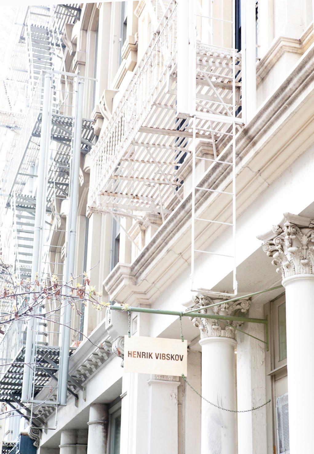 Henrik Vibskov New York boutique