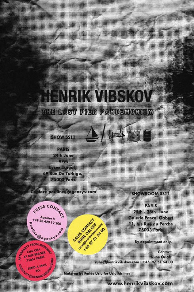 Henrik Vibskov 'Last Pier Pandemonium' Paris