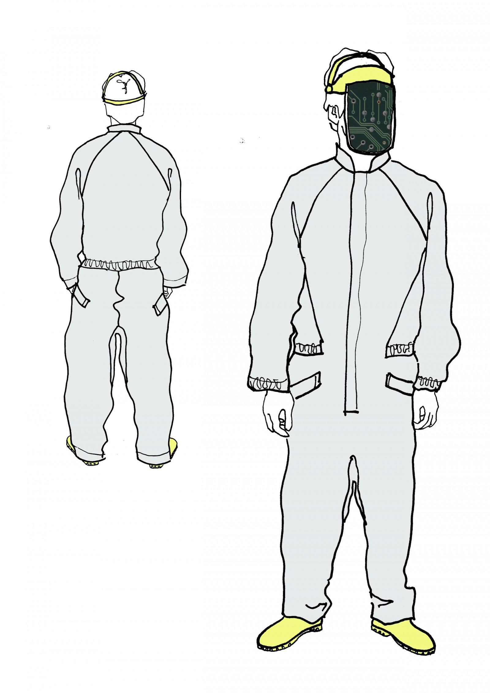 'Science Fashion' Bachelor Project illustration