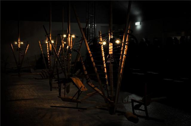 Henrik Vibskov 'Slippery Spiral Situation' show Copenhagen
