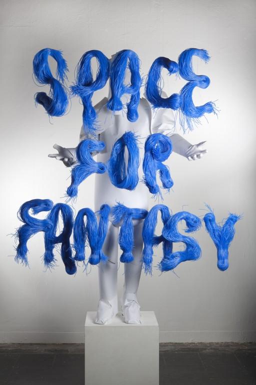 Space For Fantasy - Henrik Vibskov installation at Galleries Lafayette, Paris